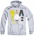 Bruce Lee pull-over hoodie Lee Gift Set adult athletic heather
