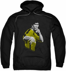 Bruce Lee pull-over hoodie Suit Of Death adult black