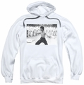 Bruce Lee pull-over hoodie Triumphant adult white