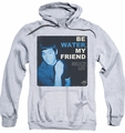 Bruce Lee pull-over hoodie Water adult athletic heather