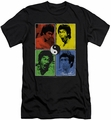 Bruce Lee slim-fit t-shirt Enter Color Block mens black
