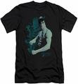 Bruce Lee slim-fit t-shirt Feel mens black
