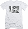 Bruce Lee slim-fit t-shirt Full Of Fury mens white