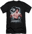 Bruce Lee slim-fit t-shirt Inner Fury mens black
