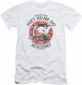 Bruce Lee slim-fit t-shirt Jeet Kune mens white