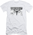 Bruce Lee slim-fit t-shirt Kick To The Head mens white