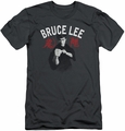 Bruce Lee slim-fit t-shirt Ready mens charcoal