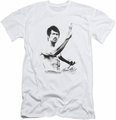 Bruce Lee slim-fit t-shirt Serenity mens white