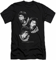 Bruce Lee slim-fit t-shirt Sounds Of The Dragon mens black