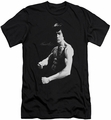 Bruce Lee slim-fit t-shirt Stance mens black