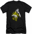 Bruce Lee slim-fit t-shirt Suit Of Death mens black