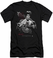 Bruce Lee slim-fit t-shirt The Dragon mens black