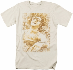 Bruce Lee t-shirt Freedom mens cream