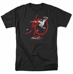 Bruce Lee t-shirt High Flying mens black