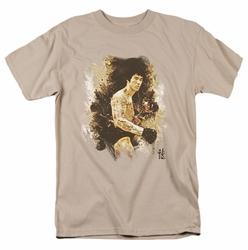 Bruce Lee t-shirt Intensity mens sand