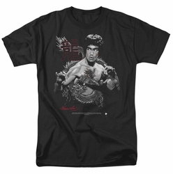 Bruce Lee t-shirt The Dragon mens black