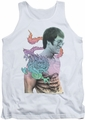 Bruce Lee tank top A Little Bruce adult white
