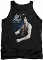 Bruce Lee tank top Dragon Stance adult black