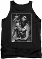 Bruce Lee tank top Focused Rage adult black