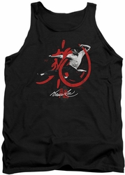 Bruce Lee tank top High Flying adult black