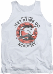 Bruce Lee tank top Jeet Kune adult white