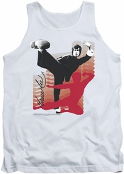 Bruce Lee tank top Kick It adult white
