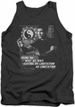 Bruce Lee tank top No Way As A Way adult charcoal