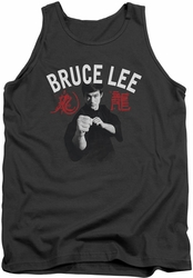 Bruce Lee tank top Ready adult charcoal