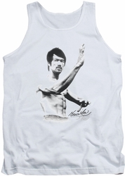 Bruce Lee tank top Serenity adult white