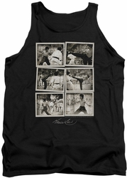 Bruce Lee tank top Snap Shots adult black