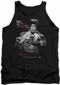 Bruce Lee tank top The Dragon adult black