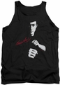 Bruce Lee tank top The Dragon Awaits adult black