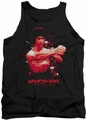 Bruce Lee tank top The Shattering Fist adult black