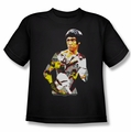 Bruce Lee youth teen t-shirt Body Of Action black