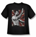 Bruce Lee youth teen t-shirt Concentrate black