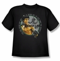 Bruce Lee youth teen t-shirt Expectations black