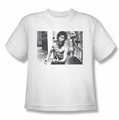 Bruce Lee youth teen t-shirt Full of Fury white