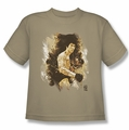 Bruce Lee youth teen t-shirt Intensity sand
