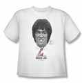 Bruce Lee youth teen t-shirt Self Help white