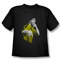 Bruce Lee youth teen t-shirt Suit Of Death black