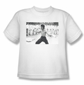 Bruce Lee youth teen t-shirt Triumphant white