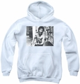 Bruce Lee youth teen hoodie Full Of Fury white