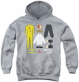Bruce Lee youth teen hoodie Lee Gift Set athletic heather