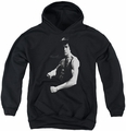 Bruce Lee youth teen hoodie Stance black
