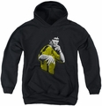 Bruce Lee youth teen hoodie Suit Of Death black