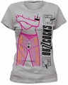 Buzzcocks fizzing at the terminals women's tee silver t-shirt pre-order