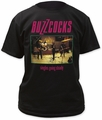 Buzzcocks singles going steady fitted jersey tee black t-shirt pre-order