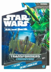 Cade Bane to Xanadu Blood action figure Transformers Crossovers