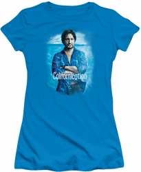 Californication juniors t-shirt Way Too Deep turquoise
