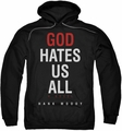 Californication pull-over hoodie Book Cover adult black